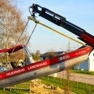 Hub und Stellprobe mit RF-Kran Bad Mühllacken