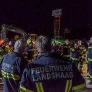 Übung: Explosion im Öllager