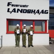 Feuerwehrjugendleistungsabzeichen Gold in Walding